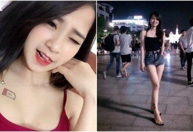 辣死人!越南背心妹露「深深奶溝」 笑容甜出蜜+白皙逆天嫩腿不科學!