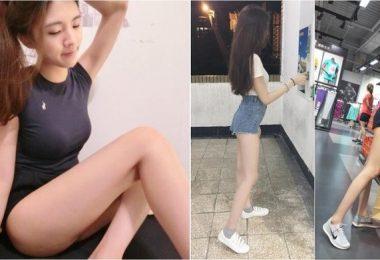 這雙腿美到該投保!又細又長逆天長腿讓她追蹤者暴增:腿控必收!