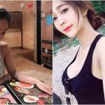 餐廳越南正妹吃個飯「長輩」上桌!細肩帶快撐不住的巨無霸ㄉㄨㄞ奶:越看越可口