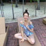 高挑比例「暗藏超兇身材」 韓國籍超正選美參賽者!往下探長裙下的白嫩美腿遮也遮不住!