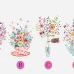 日本神準心測!4種花瓶最喜歡哪個?秒解你的魅力等級